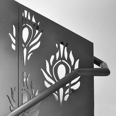 Quirky laser-cut balustrade | Shoreditch, London | Design & Weld