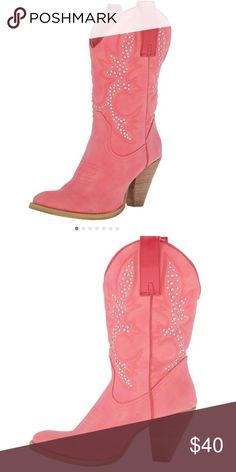 Very Volatile Women's Arienette Bootie Very volatile boots in pink. Brand new never worn. Volatile Shoes Ankle Boots & Booties