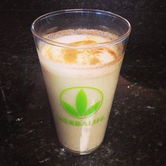 Oatmeal Cookie Shake!  1 Scoop Herbalife Cookies 'n Cream Formula 1 Mix, 1 Scoop of Vanilla Protein Drink Mix, 2 Tablespoons of Oatmeal/Rolled Oats, 1 Tablespoon of sugar-free Vanilla Pudding Mix, 1 Dash of Cinnamon, and crushed ice.  Blend and enjoy! https://www.goherbalife.com/cvitanovich