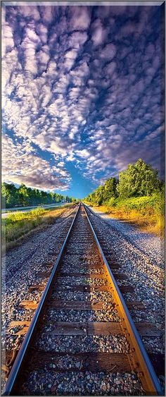 """All The Way Home"" --- Wisconsin Horizons #by Phil Koch"