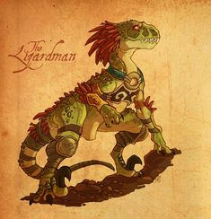 Lizardman by VanOxymore on DeviantArt