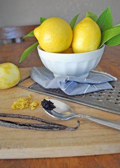 Vanilla Bean Lemon Crinkle Cookies | Sinister Sweet Shop
