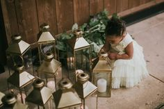 Flower girl by lanterns Woodsy Wedding, Wedding Bride, Wedding Ideas, Flower Girl Outfits, Flower Girls, Wedding Decorations, Table Decorations, Washington State, Flower Crown