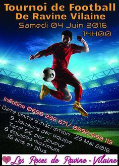 Tournoi de Football de Ravine Vilaine Vous aussi intégrez vos événements dans l'Agenda des Sorties de www.bellemartinique.com C'est GRATUIT !  #martinique #concert #agenda #sortie #soiree #Antilles #domtom #outremer