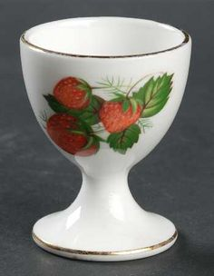 Hammersley Strawberry Ripe (Small Scallops On Edge) Single Egg Cup