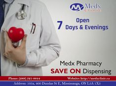 Whether It's About a Regular Checkup Or An Emergency, Medx Clinic Is Also Here To Serve You 7Days a Week. Call: 289-521-8844 Or Call: 289-521-8845 #Health #Wealth #MedX #Clinic #Consultation #Pharmacy #Cause #Health #Sick #Illness #Solution