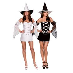 HALLOWEEN SI AVVICINA.... Dreamgirl Reversible Witch Costume - Small