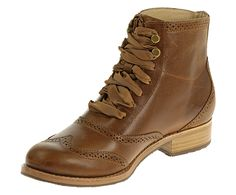 I just ordered these... TBA.  Love the feminine laces.  Women - Claremont Boot - Cognac Leather | Sebago