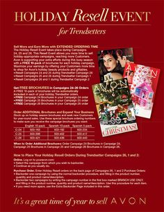 Download the Holiday Resell Event for Trendsetters Flyer