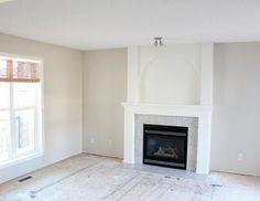 Benjamin Moore Baby Fawn OC-15 Living Room Paint Refresh   Satori Design for Living