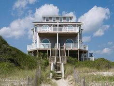Enjoy beautiful oceanfront views at Sea Maiden East. This 5 bedroom, 3 bathroom duplex has a gold in house rating and is available year round.