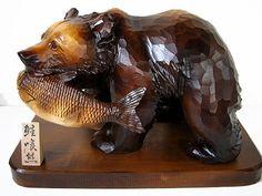 木彫りの熊 [トミヤ郷土民芸]