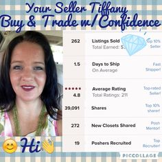 😊Welcome😊to @tifmller 👋Hi👋I'm Tiffany As Your Seller, Yours, My Customer's, 💯% Satisfaction is My #1 Goal‼️From the Beginning while Your Shopping until You Open Your Package🎉I want You To Feel like you Just Walked Out of My Boutique where You were Treated like The Only Person in The Store. I want You to Feel Like You Got a Great Deal and Personalized Service. Keep in Mind Anything You See Modeled (w/The Exception of The Grecian & Blk/Gold Formal Gowns) My Measurements are 5' 110lbs…