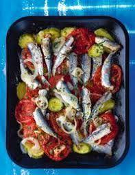 Greek Recipes, Fish Recipes, Vegetarian Recipes, Cooking Recipes, Healthy Recipes, Food N, Food And Drink, Greek Fish, Low Sodium Recipes