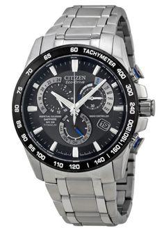 17c59db69e7c Citizen Eco-Drive AT4010-50E Men s Atomic Timekeeping Watch