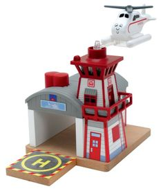 Thomas And Friends Wooden Railway  Harolds Helipad * To view further for this item, visit the image link.Note:It is affiliate link to Amazon.