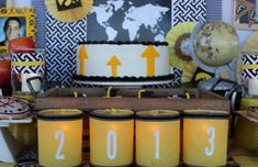 Graduation Party via Kara's Party Ideas | KarasPartyIdeas.com #graduation #party #ideas #dr #seuss (30)