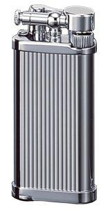 IM Corona Old Boy 1183 Chromium Vertical Pipe Lighter