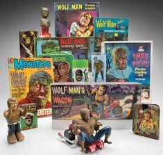 Kirk Hammett's Wolfman collectioc