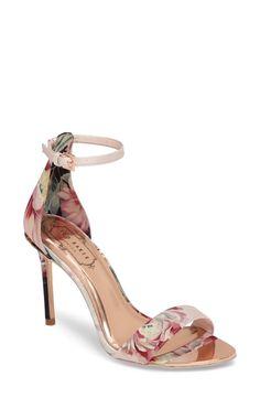 Ted Baker London Charv Sandal (Women) on We Heart It Ted Baker Sandals, Ted Baker Shoes, Pretty Shoes, Beautiful Shoes, Cute Shoes, Stiletto Heels, Shoes Heels, Gold Shoes, Shoe Show