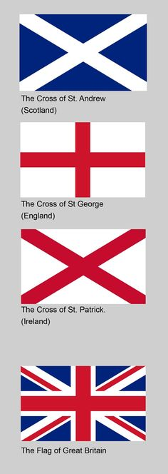 Correction, flag of the United Kingdom. The flag of Great Britain doesn't have… England And Scotland, England Uk, London England, Flag Of England, Flag Of Scotland, Great Britain Flag, Kingdom Of Great Britain, Flag Coloring Pages, Thinking Day