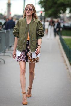 Pin for Later: Retour Sur les Meilleurs Looks Street Style de la Semaine de la Haute Couture  Olivia Palermo