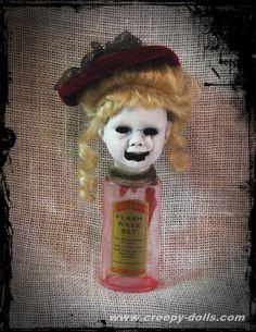 Bottle doll available at http://store01.prostores.com/servlet/creepydolls/the-2085/Creepy-Bottle-Doll-Bastet2329/Detail