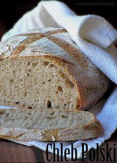 Polski chleb wiejski (Polish cottage rye) Polish Rye Bread Recipe, Rye Bread Recipes, Polish Food, Polish Recipes, Bread Making, How To Make Bread, Fish And Chips, Bakeries, Bread Rolls