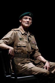 Colm Feore as Macbeth in Macbeth, 2009  Director: Des McAnuff Designer: Robert Brill and Paul Tazewell Photo: David Hou  #tbt #TheatreThursday
