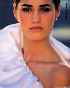"""City Options!"", Elle US, February 1990Photographer: Gilles Bensimon Model: Yasmin Le Bon"