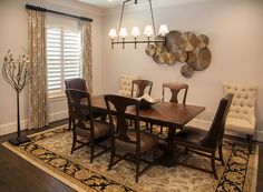 Casual Dining Room And Interior Design By Mary Strong From Star Furniture In West Houston