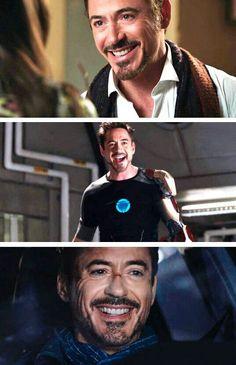 RDJ aka Tony Stark's smile