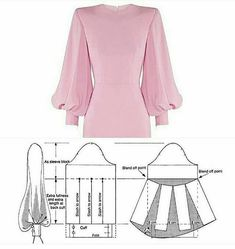 Sundress Pattern, Shift Dress Pattern, Abaya Pattern, Pattern Draping, Sleeve Pattern, Evening Dress Patterns, Baby Dress Patterns, Skirt Patterns, Mode Instagram