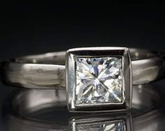 Solitaire Diamond Gold Jewelry Certified by CertifiedJewelryshop Diamond Jewelry, Gold Jewelry, Unique Jewelry, Solitaire Diamond, Gold Rings, Jewels, Engagement Rings, Crystals, Handmade Gifts