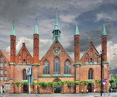 holy ghost hospital in luebeck. not technically a house, but more interesting than your average hospital building.