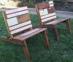 Image result for pallet deck chairs
