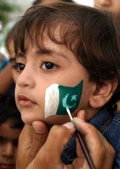 The flag of Pakistan was adopted on August the in The flag was designed by Quaid-i-Azam Muhammad Ali Jinnah, the founder of Pakistan. Pakistan Defence, Pakistan Zindabad, Pakistan National Day, Pakistani Songs, Pakistan Independence Day, Flag Dress, Flag Face, Independance Day, Cricket Match