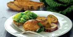 Perna de frango com alecrim e batata doce - Receitas | Pingo Doce
