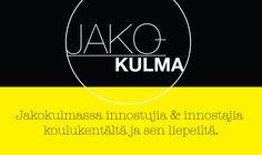 1/2016 Jakokulma Mikko Jordman. Innostuja, innostaja ja tekijä Nurmijärven yhteiskoulusta.