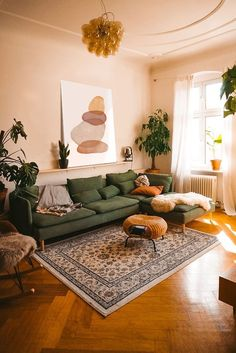 Living Room Seating, Boho Living Room, Home And Living, Living Room Interior, Living Spaces, Eclectic Living Room, Cozy Living Rooms, Earthy Living Room, Eclectic Decor
