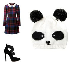 """funny hat"" by macey-medlin ❤ liked on Polyvore"