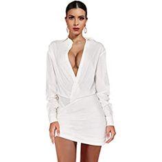 Amazon.com: UONBOX Women's Cut Out 2 Pieces Slim Fit Blazer Jacket Pants Suit Set (XS, Black2): Clothing Satin Dresses, Sexy Dresses, Dress Outfits, Strapless Dress, New Party Dress, Club Party Dresses, Robe Bodycon, Satin Duchesse, Celebrity Style Dresses