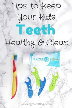 Tips to Keep Your Kids Teeth Healthy and Clean: This toothpaste can actually SHOW your kids how to brush better! SO cool! #revealyourteal #spon