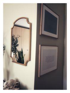 #weddingvows #weddingvowsframed #homedecor #bedroomdecor #neutraldecor #plantsofinstagram Wood Bedroom, Master Bedroom, Nest, Mirror, Inspiration, Color, Home Decor, Wooden Bedroom, Master Suite