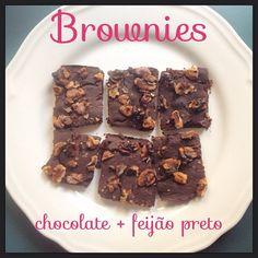 Uma receita de brownies saudável, ligeira e sem glúten.