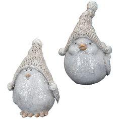 Birds in Knit Caps