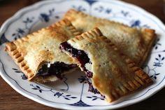 Homemade Blueberry Pop Tarts.