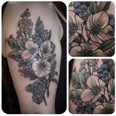Kirsten Holliday, Wonderland Tattoo, Portland, OR