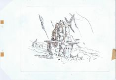 Living Lines Library: 風の谷のナウシカ / Nausicaä of the Valley of the Wind (1984) - Background Design