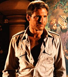 Harrison Ford- indiana jones